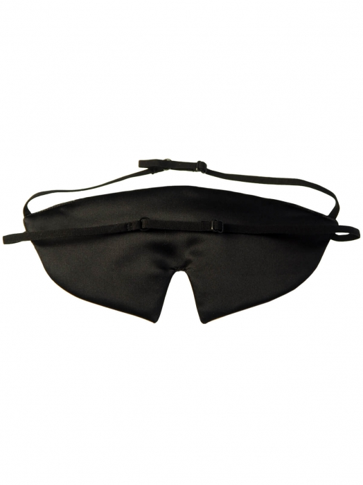 Пятислойная маска для сна из трёх видов натурального шёлка, GOLD LACE