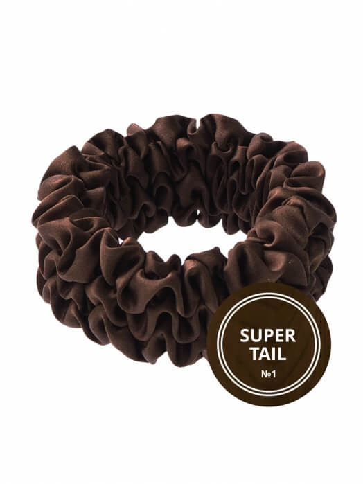 Шёлковая резинка для волос SUPER TAIL
